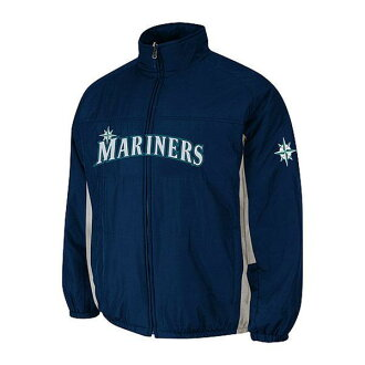 MLB Seattle Mariners Authentic Double Climate On-Field jacket (navy) Majestic