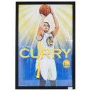 NBA ウォリアーズ ステファン・カリー ステフィン・カリー ポスター フレーム