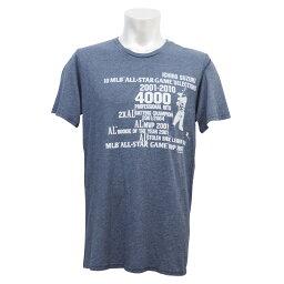 MLB ヤンキース イチロー 4000本安打記念 Tri-Blend クルーネック Tシャツ マジェスティック/Majestic