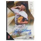 MLB レッドソックス 上原浩治 2015 サイン カード トップス/Topps