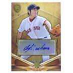 MLB レッドソックス 上原浩治 2013 サイン カード トップス/Topps