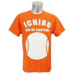 MLB マーリンズ イチロー 3000本安打 カウントダウン Tシャツ