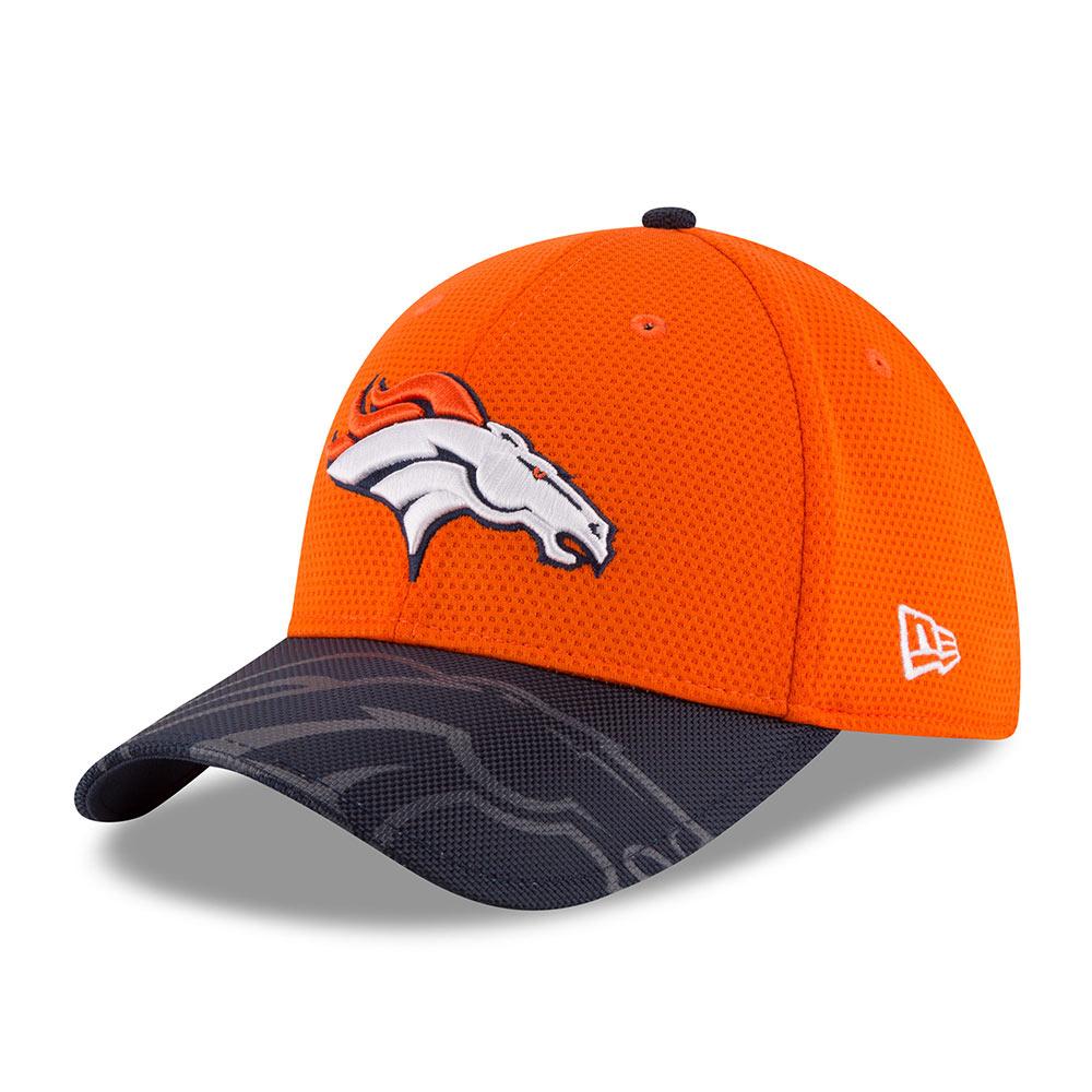 【セール】NFL ブロンコス 2016 サイドライン オフィシャル 39THIRTY キャップ/帽子 ニューエラ/New Era ネイビー