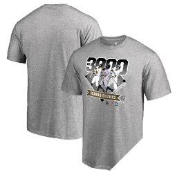 MLB マーリンズ イチロー 3000本安打記念 Tシャツ グレー
