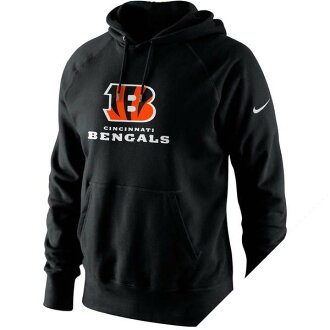 NFL 孟加拉虎隊鎖定套衫帽衫耐克 /Nike 黑色