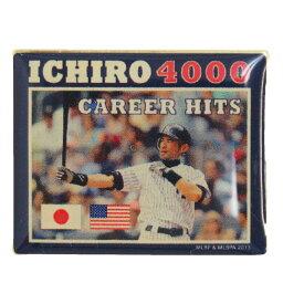 MLB ヤンキース イチロー キャリア 4000本安打 記念 ピンバッジ アミンコ/Aminco レアモデル