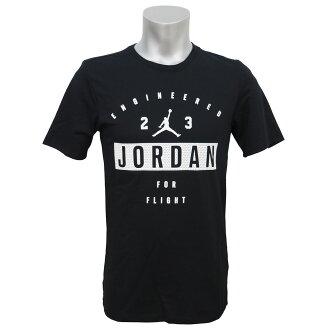 耐克喬丹 /Nike 約旦工程四個飛行 T 恤黑色