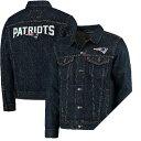 NFL ペイトリオッツ スポーツ デニム トラッカー ジャケット リーバイス/LEVI'S ブルー