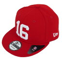 NFL 49ers ジョー・モンタナ スーパーボウル リタイアド プレーヤー 9FIFTY キャップ/帽子 ニューエラ/New Era