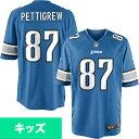 お取り寄せ NFL ライオンズ ブランドン・ペティグルー ユース ゲーム ユニフォーム ナイキ/Nike ライトブルー