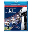 お取り寄せ NFL ペイトリオッツ 第51回スーパーボウル優勝記念 コメモラティブ DVD/Blu-Ray コンボパック