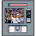 お取り寄せ MLB ヤンキース デレク・ジーター 永久欠番 記念 チケットフレーム Jr