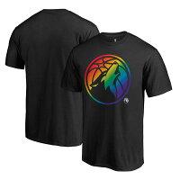 お取り寄せ NBA ティンバーウルブズ チーム プライド Tシャツ プロライン/Pro Line ブラックの画像