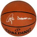 お取り寄せ NBA ウォリアーズ ステファン・カリー 直筆サイン入り プロ レザー バスケットボール スポルディング/SPALDING