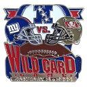 美式足球 - NFL スーパーボウルXLII ワイルドカード ジャイアンツ vs バッカニアーズ ピンバッジ レアモデル レアアイテム