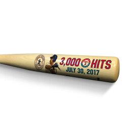 お取り寄せ MLB レンジャーズ エイドリアン・ベルトレ 3000本安打記念 ハードウッド バット ロイヤル