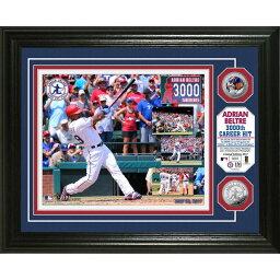 お取り寄せ MLB レンジャーズ エイドリアン・ベルトレ 3000本安打記念 フォトミント ハイランドミント/Highland Mint ロイヤル
