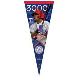 お取り寄せ MLB レンジャーズ エイドリアン・ベルトレ 3000本安打記念 ペナント ウィンクラフト/WinCraft ロイヤル