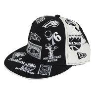 NBA HWC オールオーバー ロゴ 59FIFTY キャップ ニューエラ/New Era ブラックの画像