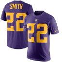 お取り寄せ NFL バイキングス ハリソン・スミス カラーラッシュ プレーヤー プライド ネーム&ナンバー Tシャツ ナイキ/Nike パー...