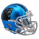 お取り寄せ NFL パンサーズ ブレイズ レボリューション スピード ミニ フットボール ヘルメット リデル/Riddell