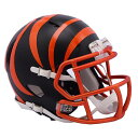 NFL ベンガルズ ブレイズ レボリューション スピード ミニ フットボール ヘルメット リデル/Riddell