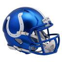 NFL コルツ ブレイズ レボリューション スピード ミニ フットボール ヘルメット リデル/Riddell