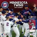 MLB ツインズ 2018 チーム ウォール カレンダー ターナー/Turner