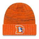 お取り寄せ NFL ブロンコス 2017 カラーラッシュ ニットキャップ/帽子 ニューエラ/New Era オレンジ