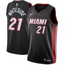 NBA Nike/ナイキ ヒート ハッサン・ホワイトサイド スウィングマン ユニフォーム/ユニホーム ブラック