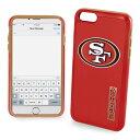 NFL 49ers iPhone 7/8 ハイブリッド ケース