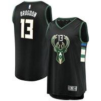 お取り寄せ NBA バックス マルコム・ブログドン ファストブレーク レプリカ ユニフォーム/ジャージ ステートメント エディションの画像