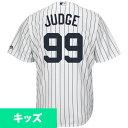 MLB ヤンキース アーロン・ジャッジ キッズ クールベース ユニフォーム/ユニホーム マジェスティック/Majestic ホーム