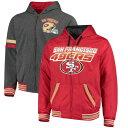 お取り寄せ NFL 49ers エクストリーム ホットショット リバーシブル フルジップ パーカー ジースリー/G-III