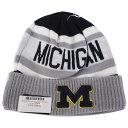 NCAA ミシガン大学 ウルヴァリンズ カレッジ ビッゲスト ファン ニットキャップ/ニット帽 ニューエラ/New Era