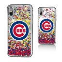 お取り寄せ MLB カブス iPhone X ケース/カバー スパークル グリッター