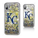 お取り寄せ MLB ロイヤルズ iPhone X ケース/カバー スパークル グリッター
