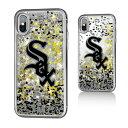 お取り寄せ MLB ホワイトソックス iPhone X ケース/カバー スパークル グリッター