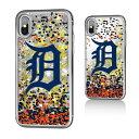 お取り寄せ MLB タイガース iPhone X ケース/カバー スパークル グリッター