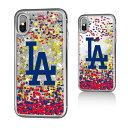 お取り寄せ MLB ドジャース iPhone X ケース/カバー スパークル グリッター