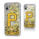 お取り寄せ MLB パイレーツ iPhone X ケース/カバー スパークル グリッター