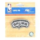 NBA スパーズ プライマリー ロゴ ピンバッジ/ピンズ PSG