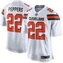 NFL ブラウンズ ジャブリル・ペッパーズ ゲーム ユニフォーム/ユニホーム レプリカ ナイキ/Nike ホワイト