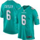 お取り寄せ NFL ドルフィンズ ジェイ・カトラー ゲーム ユニフォーム/ユニホーム レプリカ ナイキ/Nike アクア