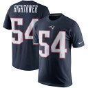 お取り寄せ NFL ペイトリオッツ ドンタ・ハイタワー プレイヤー プライド ネーム&ナンバー Tシャツ ナイキ/Nike