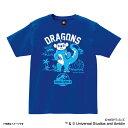 中日ドラゴンズ グッズ JURASSIC WORLD/ジュラシック ワールド コラボ 着ぐるみ Tシャツ スペースエイジ/Space Age