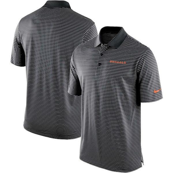 お取り寄せ NFL ベンガルズ ポロシャツ チームスタジアム パフォーマンス ナイキ/Nike ブラック