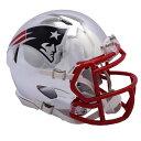 NFL ペイトリオッツ ミニ ヘルメット フットボール クローム オルタネート スピード リデル/Riddell