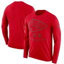 お取り寄せ NFL チーフス Tシャツ サルート トゥ サービス サイドライン レジェンド ロンT ナイキ/Nike レッド