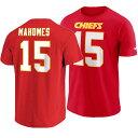 NFL チーフス パトリック・マホームズ Tシャツ プレイヤー プライド ネーム&ナンバー ナイキ/Nike レッド